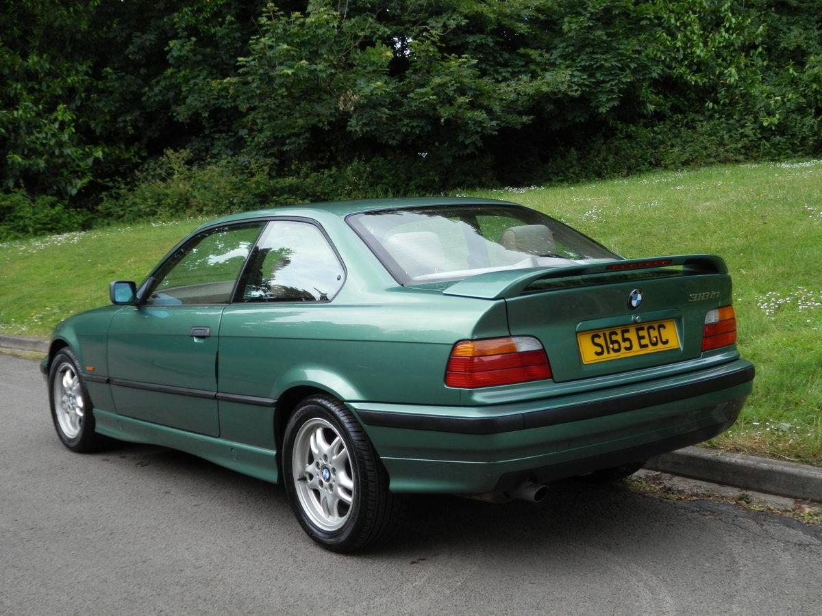 BMW E36.. 318iS AUTO COUPE.. RARE COLOUR.. M-TECH SUSPENSION For Sale (picture 5 of 6)
