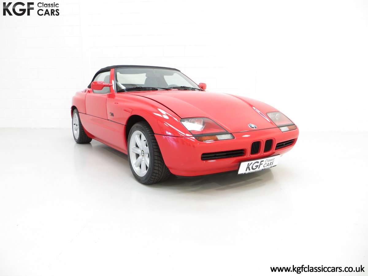 1990 A Cult UK Supplied BMW Z1 with just 19,751 Miles For Sale (picture 1 of 6)