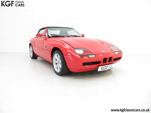 1990 A Cult UK Supplied BMW Z1 with just 19,751 Miles SOLD
