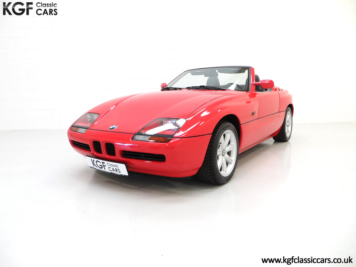 1990 A Cult UK Supplied BMW Z1 with just 19,751 Miles For Sale (picture 2 of 6)