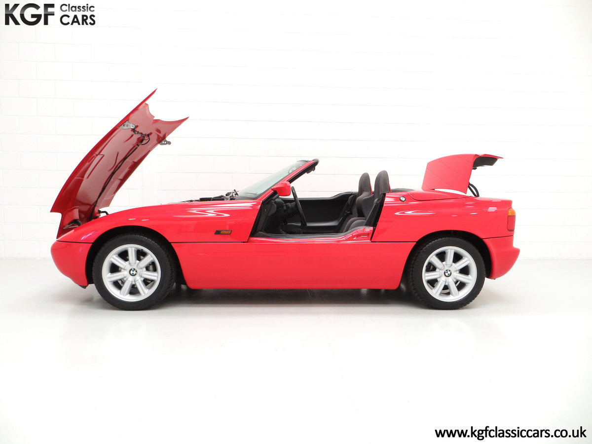 1990 A Cult UK Supplied BMW Z1 with just 19,751 Miles For Sale (picture 3 of 6)