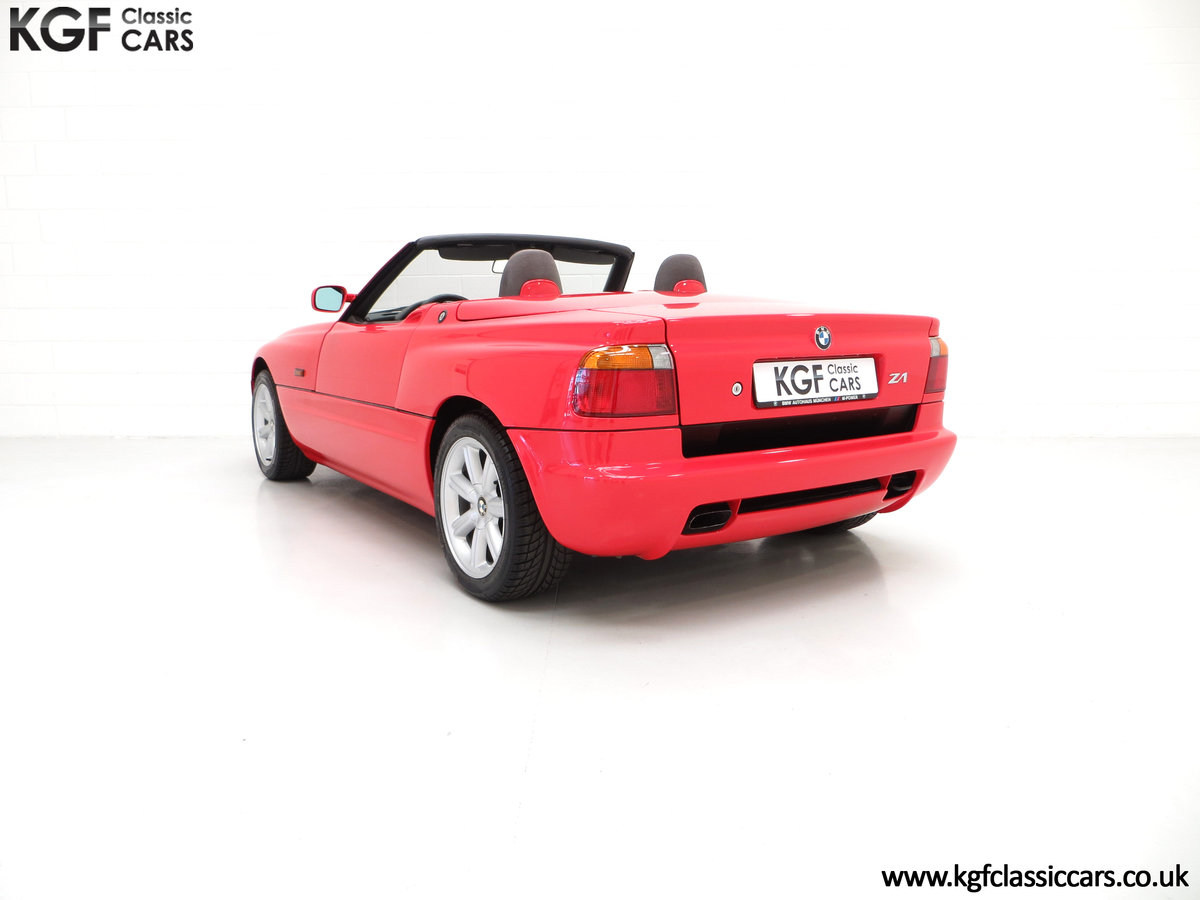 1990 A Cult UK Supplied BMW Z1 with just 19,751 Miles For Sale (picture 4 of 6)
