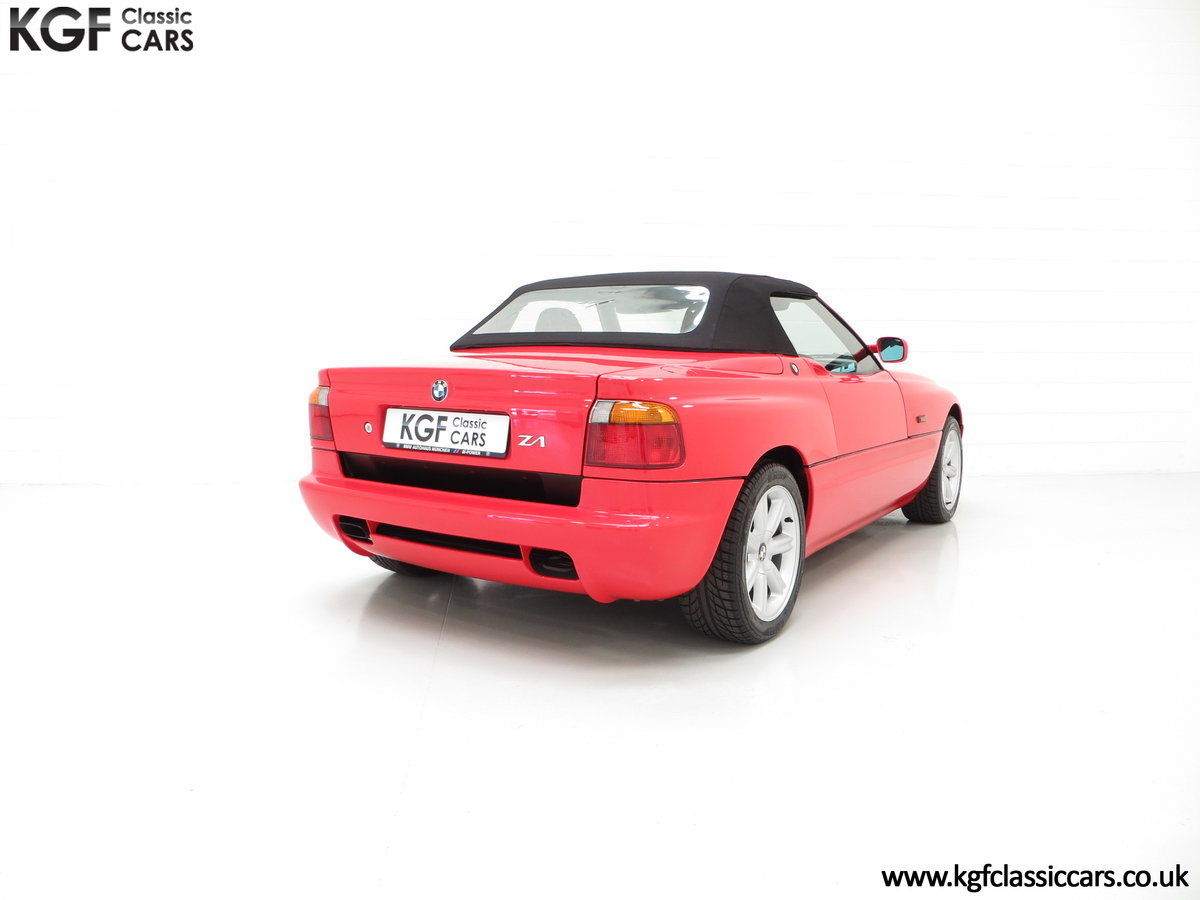 1990 A Cult UK Supplied BMW Z1 with just 19,751 Miles For Sale (picture 5 of 6)