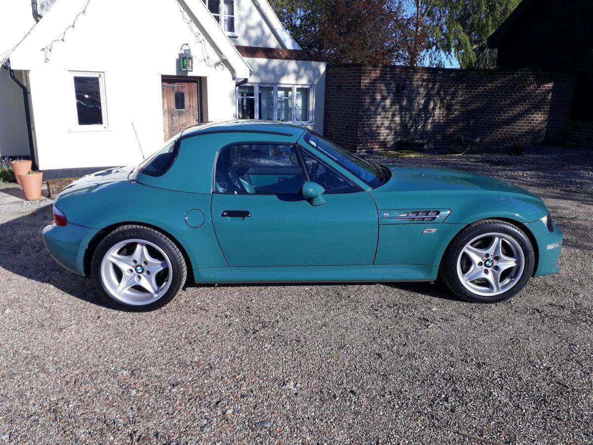 1998 BMW Z3 M Roadster, 34K, in Evergreen with hard top For Sale (picture 2 of 6)