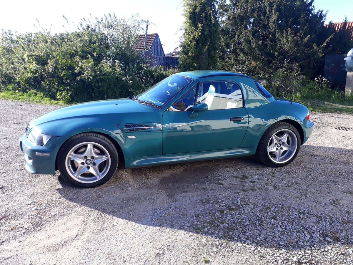1998 BMW Z3 M Roadster, 34K, in Evergreen with hard top For Sale (picture 3 of 6)