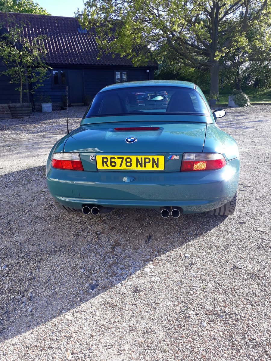 1998 BMW Z3 M Roadster, 34K, in Evergreen with hard top For Sale (picture 4 of 6)