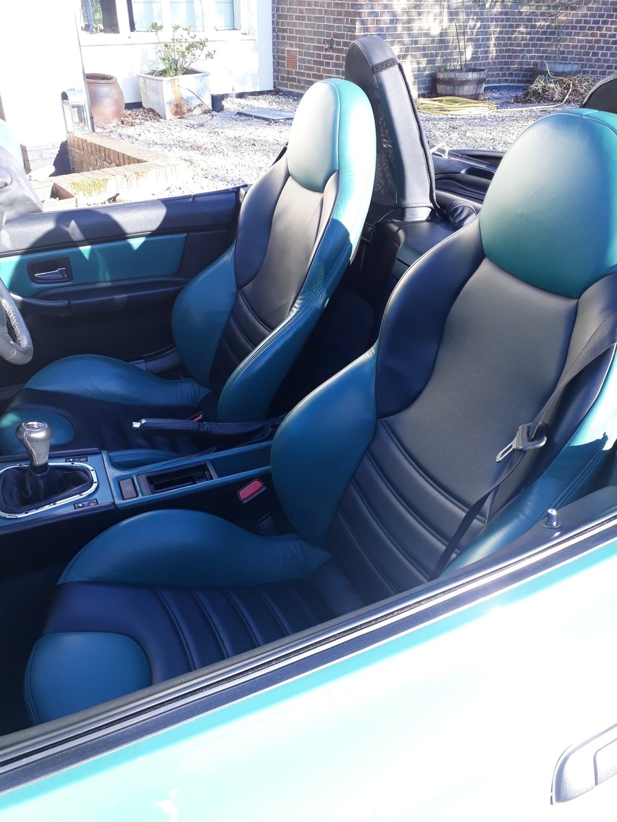 1998 BMW Z3 M Roadster, 34K, in Evergreen with hard top For Sale (picture 5 of 6)