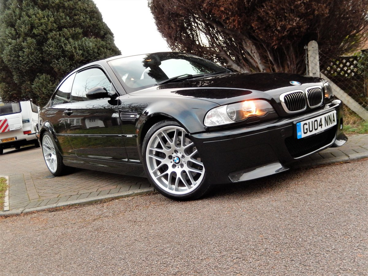 2004 BMW E46 M3 CSL With Only 38,000 Miles From New For Sale (picture 1 of 6)