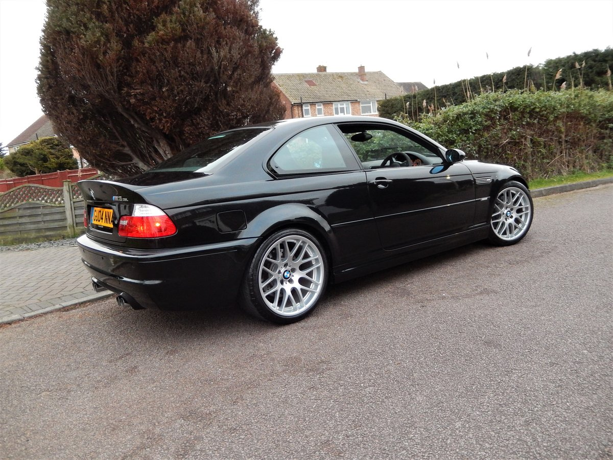 2004 BMW E46 M3 CSL With Only 38,000 Miles From New For Sale (picture 2 of 6)