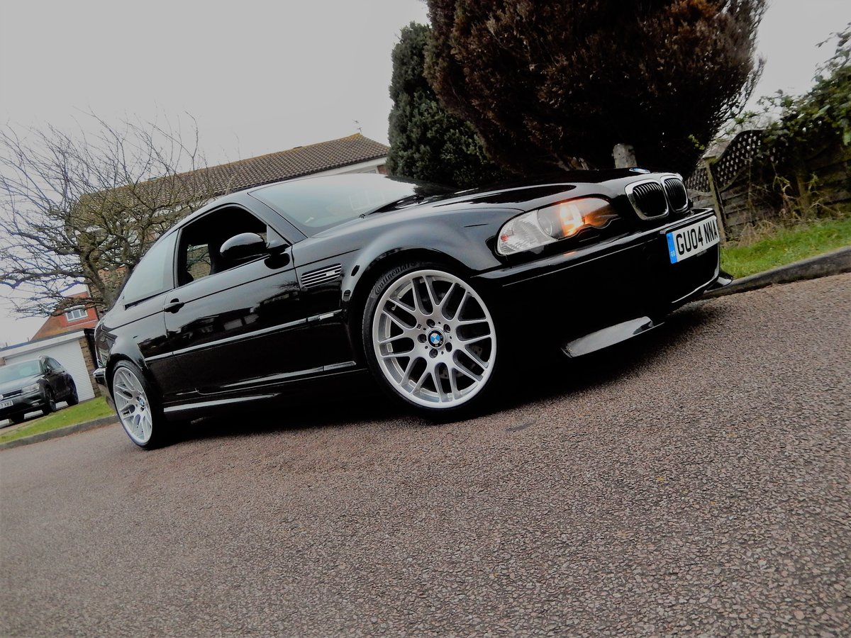 2004 BMW E46 M3 CSL With Only 38,000 Miles From New For Sale (picture 5 of 6)