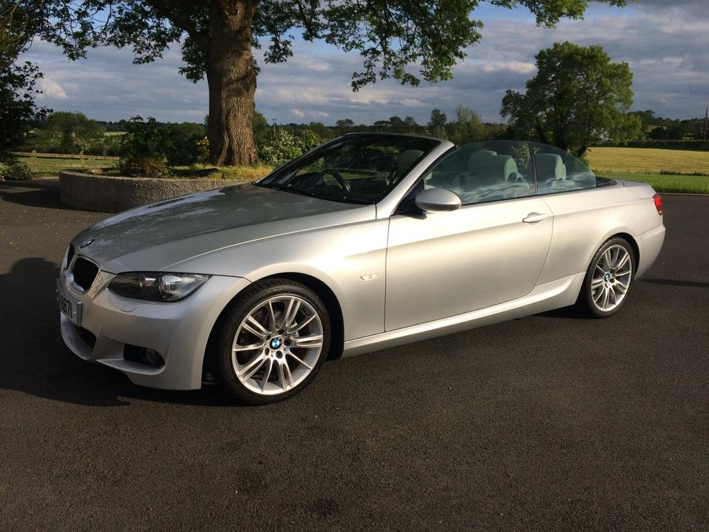 2009 BMW 320i M-SPORT CONVERTIBLE For Sale (picture 1 of 6)