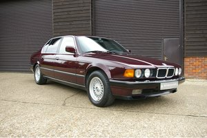 1994 BMW E32 740iL V8 Exclusive Edition LWB LHD (36,181 miles) SOLD