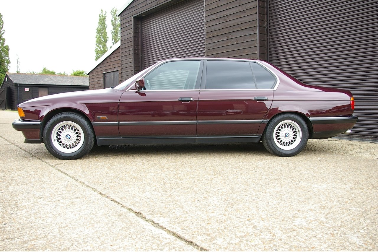 1994 BMW E32 740iL V8 Exclusive Edition LWB LHD (36,181 miles) SOLD (picture 2 of 6)