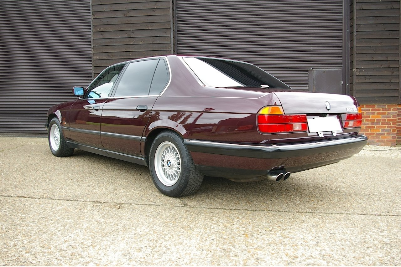 1994 BMW E32 740iL V8 Exclusive Edition LWB LHD (36,181 miles) SOLD (picture 3 of 6)