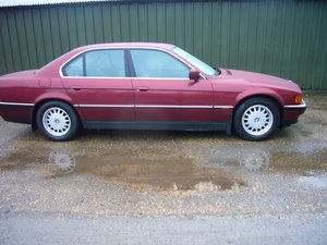 1995 M BMW 730i, 68,100 miles, 2 owners