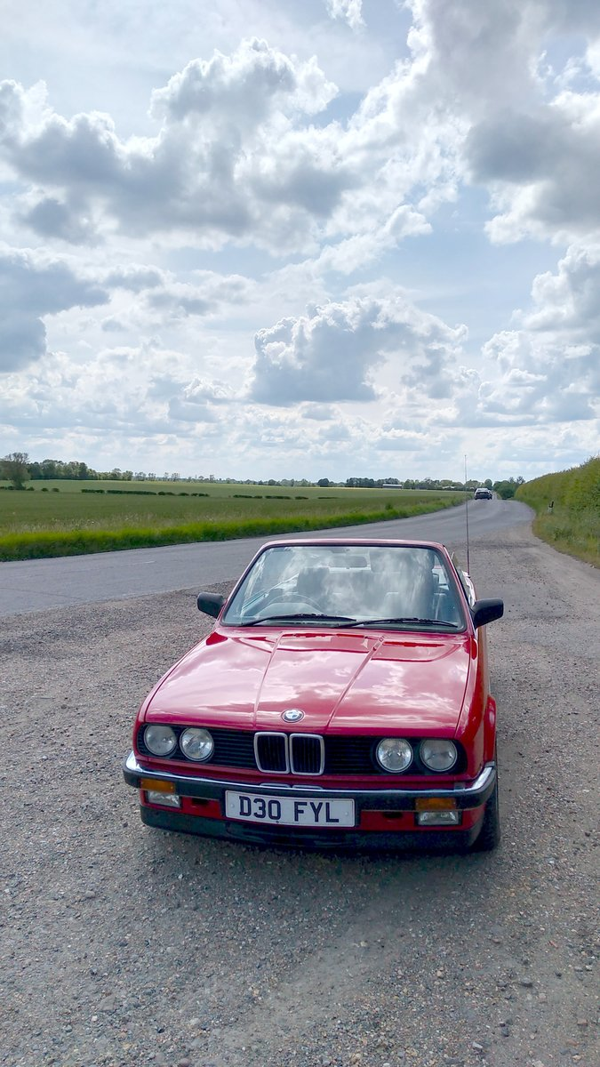 1986 E30 BMW 325i convertible manual + black leather. For Sale (picture 3 of 6)