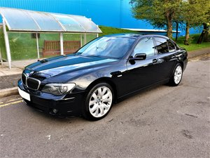 2007  BMW 730D SPORT BLACK WITH BLACK SPORTS SEATS MOT JUNE 2020 For Sale