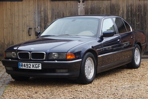 1998 BMW E38 735I LEFT HAND DRIVE 1 OWNER FROM NEW 66,000