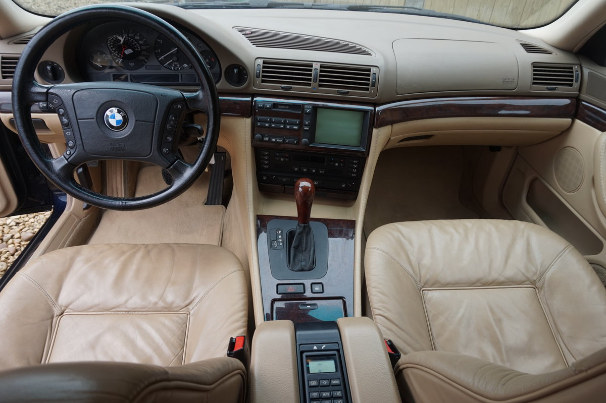 1998 BMW E38 735I LEFT HAND DRIVE 1 OWNER FROM NEW 66,000 For Sale (picture 2 of 6)