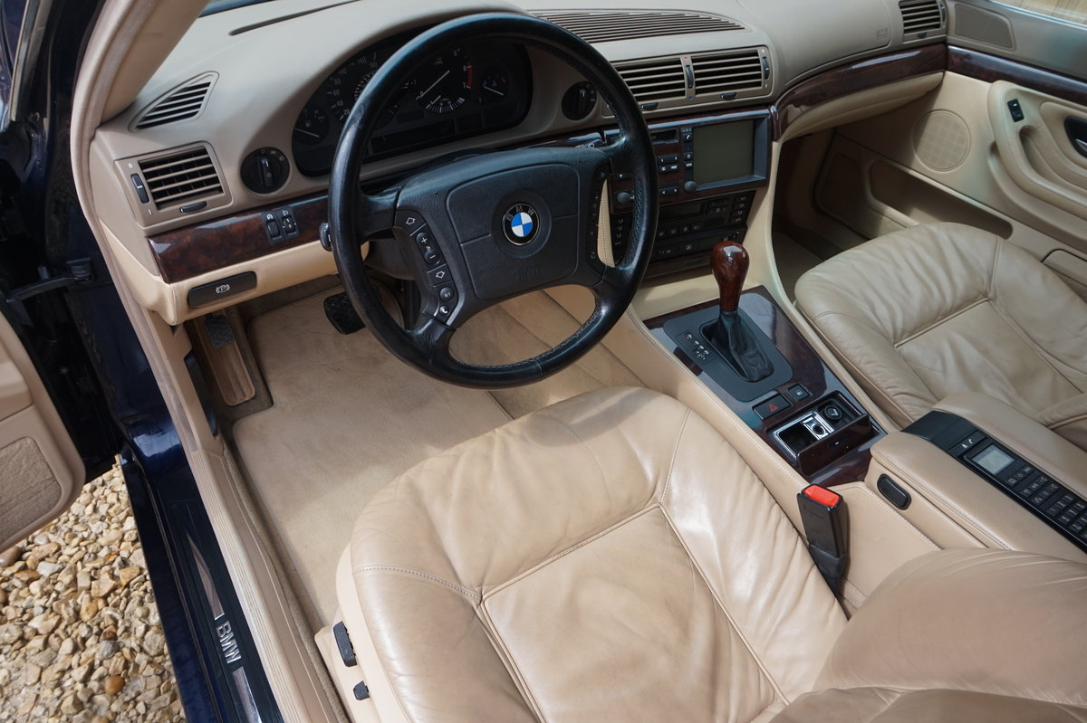 1998 BMW E38 735I LEFT HAND DRIVE 1 OWNER FROM NEW 66,000 For Sale (picture 5 of 6)