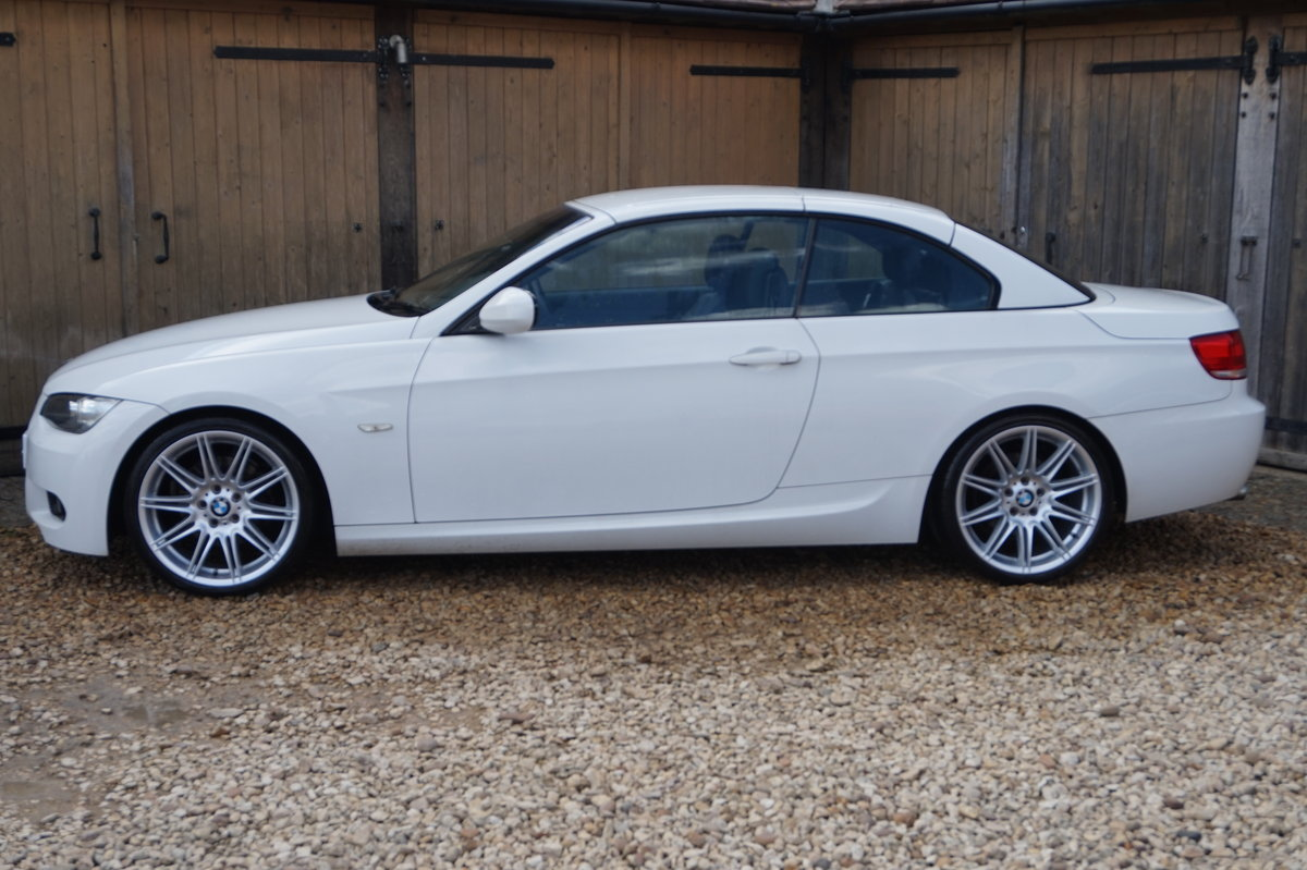 2010 BMW M SPORT 320D AUTO HIGHLINE CONVERTIBLE For Sale (picture 1 of 6)