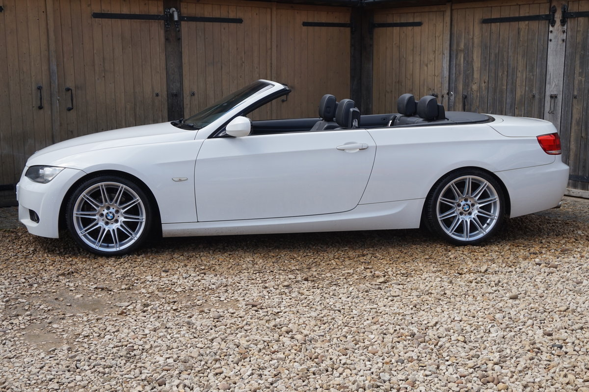 2010 BMW M SPORT 320D AUTO HIGHLINE CONVERTIBLE For Sale (picture 2 of 6)
