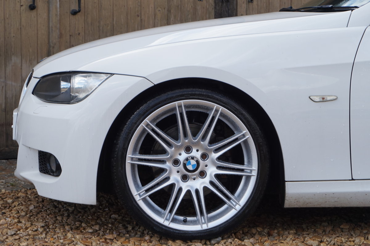 2010 BMW M SPORT 320D AUTO HIGHLINE CONVERTIBLE For Sale (picture 3 of 6)