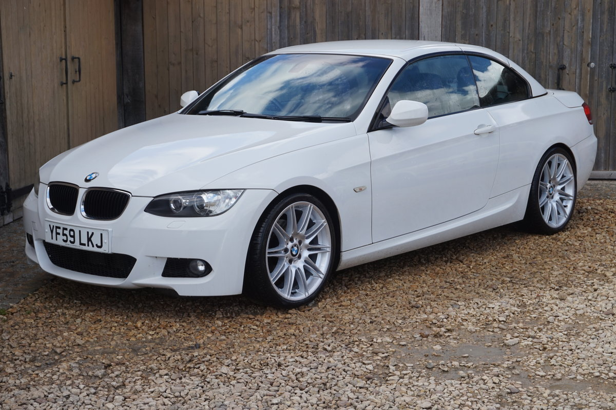 2010 BMW M SPORT 320D AUTO HIGHLINE CONVERTIBLE For Sale (picture 4 of 6)