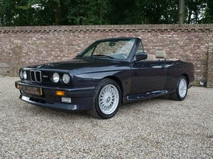 1989 BMW M3 E30 Convertible BB01, only 112.527 km, only 136 made!