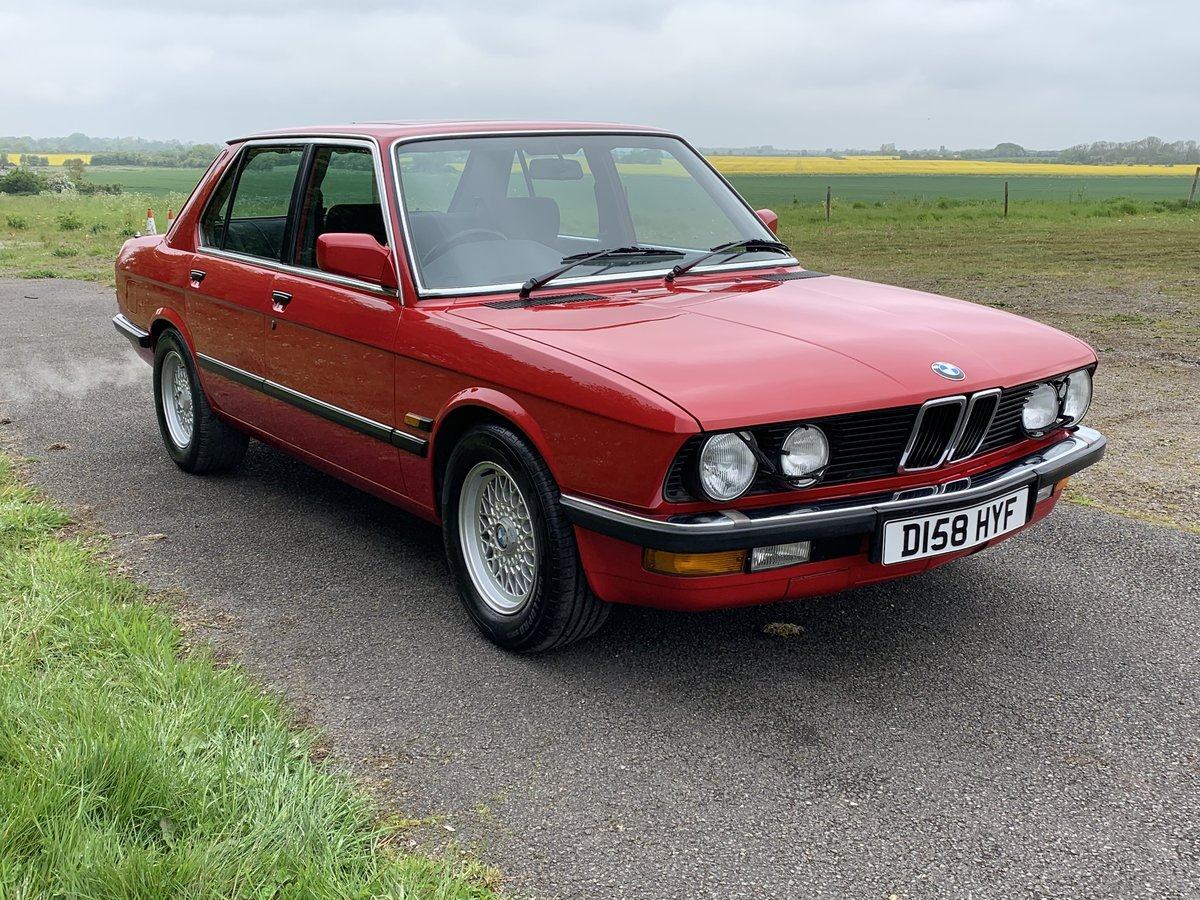 1987 BMW 525E LUX For Sale (picture 1 of 5)