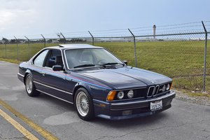 1988 BMW M6 E24 = Cali Car Rare Blue(~)Dove Manual $32.9k