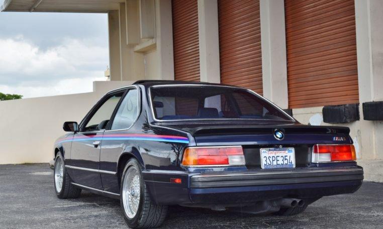 1988 BMW M6 E24 = Cali Car Rare Blue(~)Dove Manual $32.9k For Sale (picture 2 of 6)