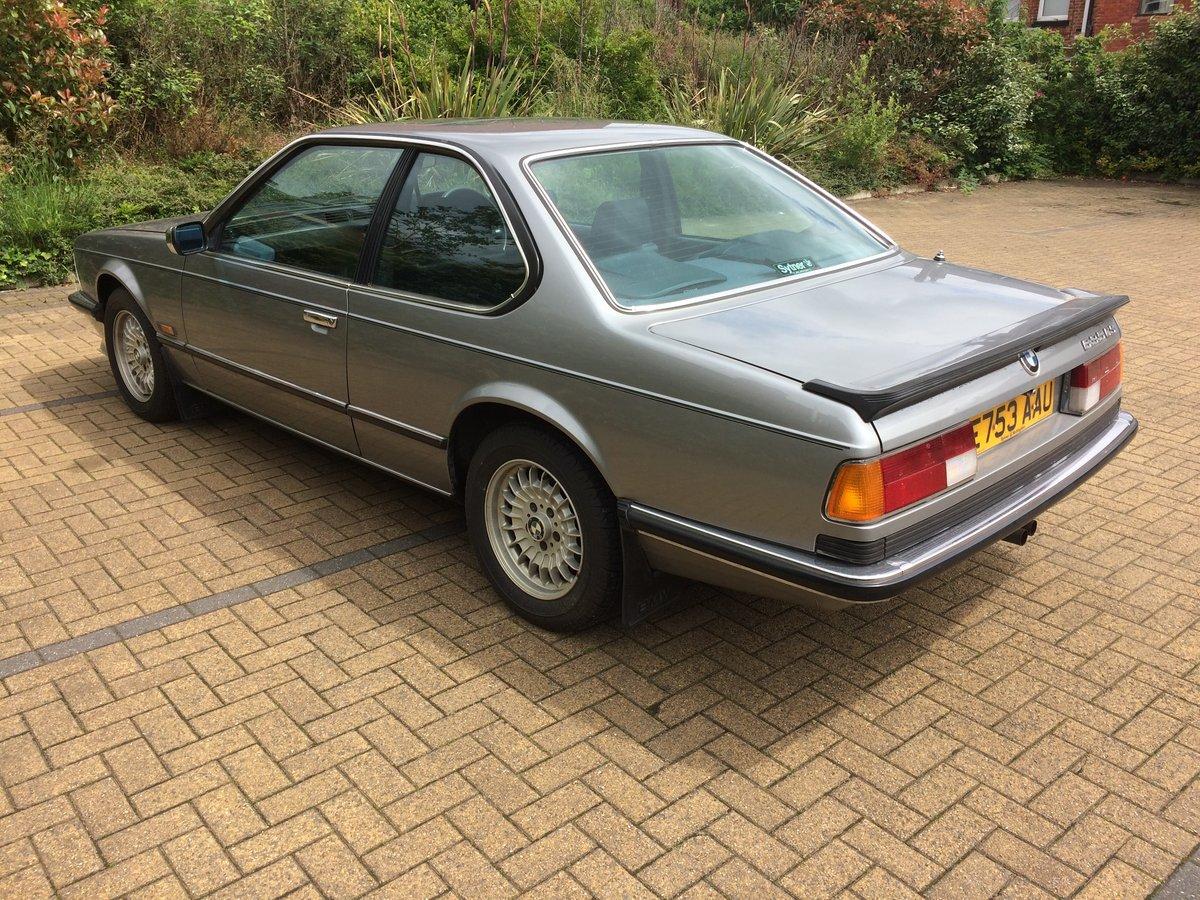 1987 Bmw 635csi auto For Sale (picture 4 of 6)