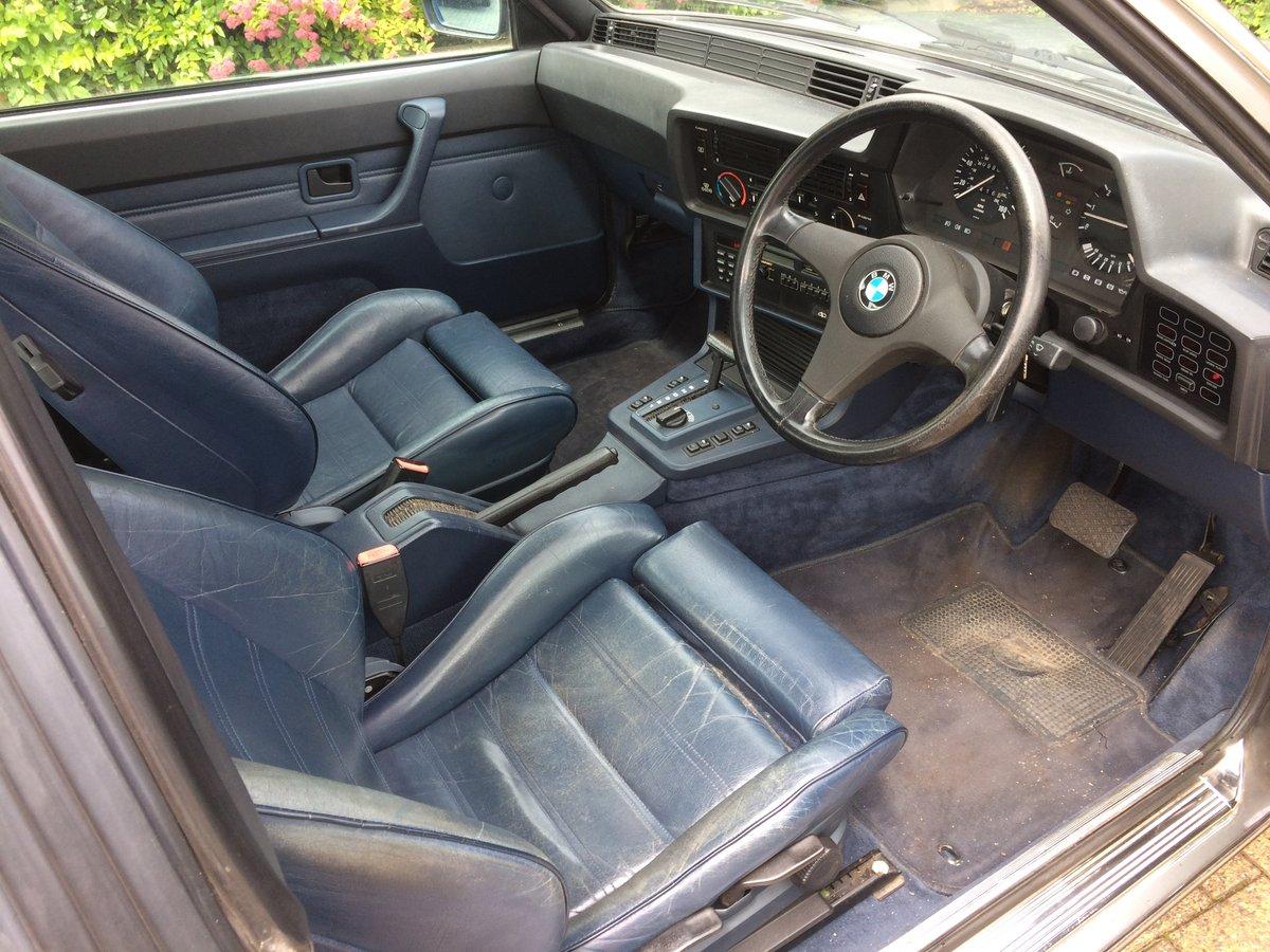 1987 Bmw 635csi auto For Sale (picture 5 of 6)
