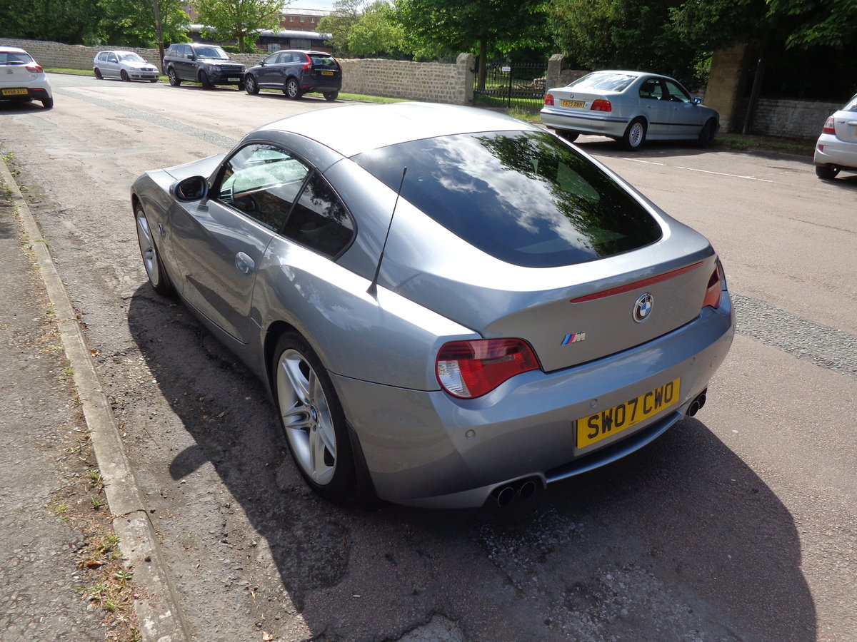 2007 AN IMMACULATE, LOW MILEAGE Z4M COUPE WITH FULL BMW HISTORY!w For Sale (picture 4 of 6)