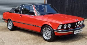 1981 Superb E21 323i manual Baur Convertible - Ready to show