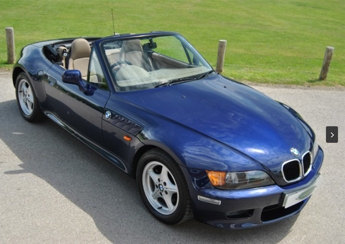 1998 BMW E36 Z3 2.8 Roadster Manual finished in Montreal Blue For Sale (picture 1 of 6)