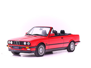 1990 BMW E30 320I CABRIOLET For Sale by Auction