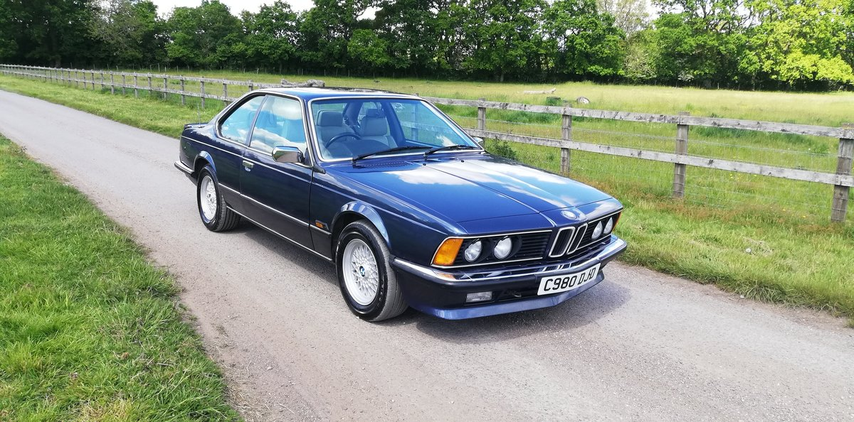 BMW 635csi 1986 - 1 years MOT For Sale (picture 1 of 6)