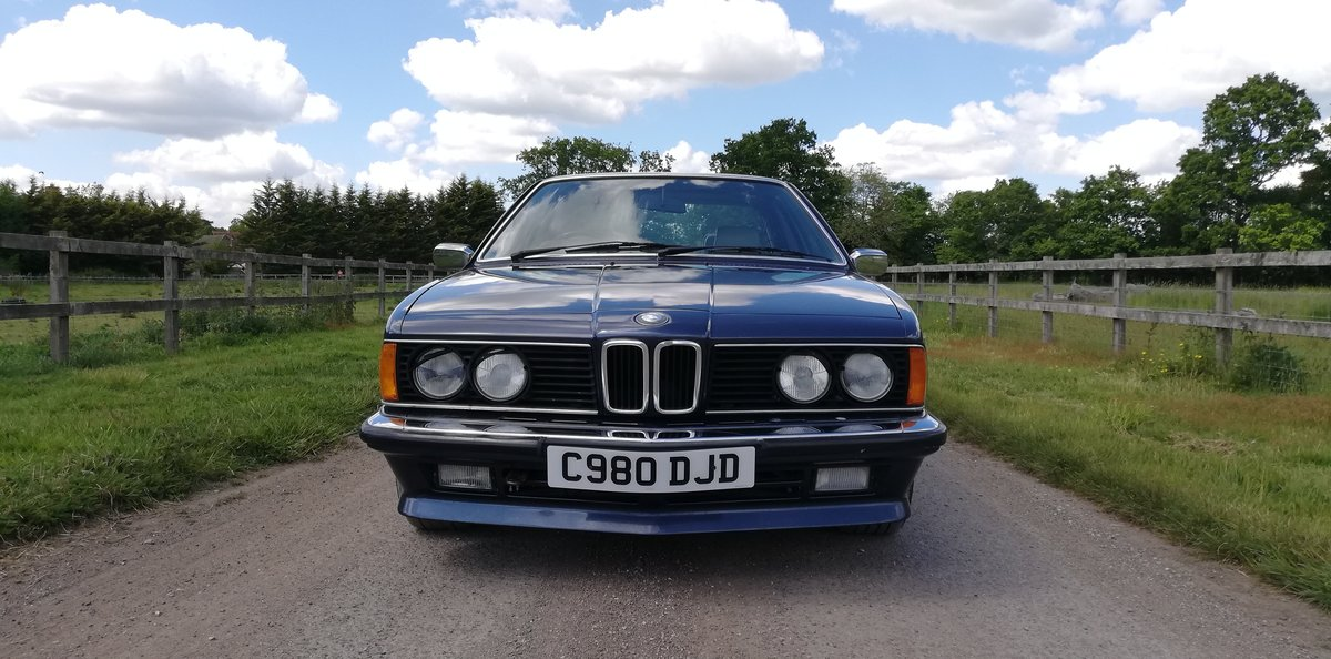 BMW 635csi 1986 - 1 years MOT For Sale (picture 2 of 6)