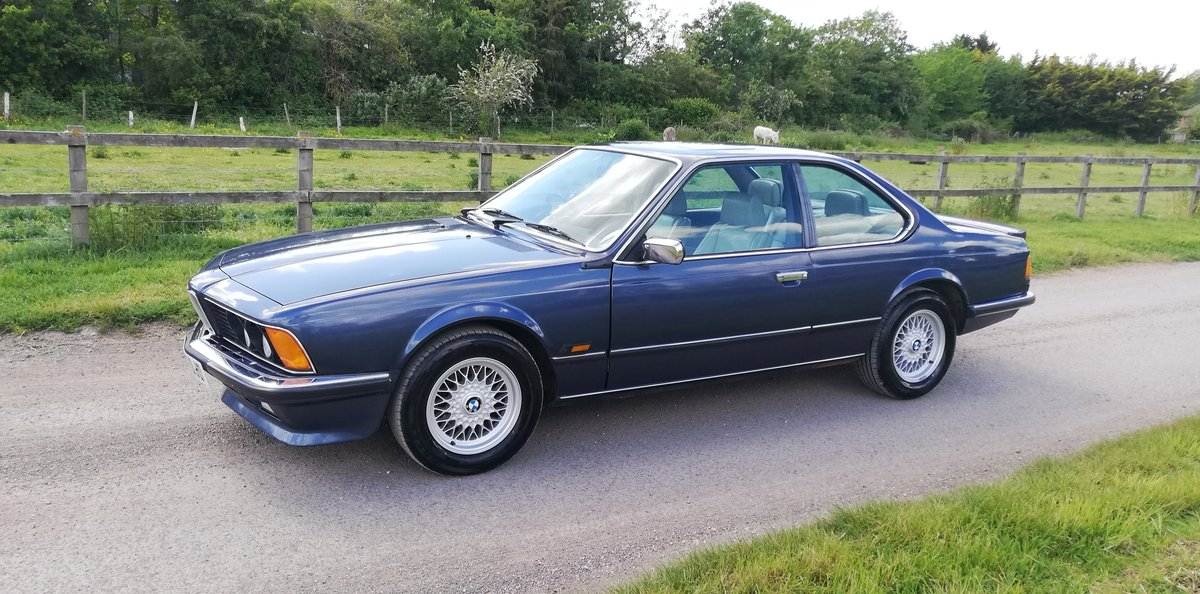 BMW 635csi 1986 - 1 years MOT For Sale (picture 3 of 6)