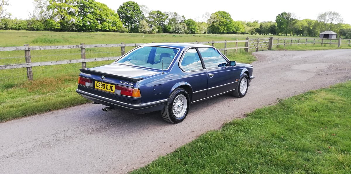 BMW 635csi 1986 - 1 years MOT For Sale (picture 4 of 6)