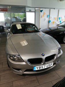 2008 3.2 z4 m coupe 338 bhp