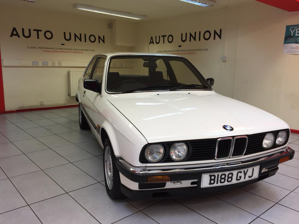 1984 E30 BMW 320i AUTOMATIC For Sale (picture 1 of 6)