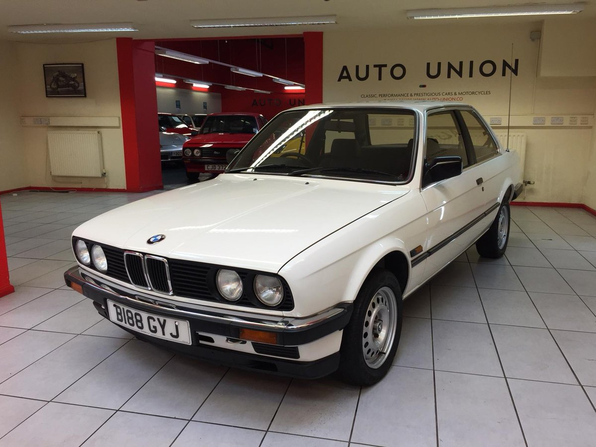 1984 E30 BMW 320i AUTOMATIC For Sale (picture 2 of 6)