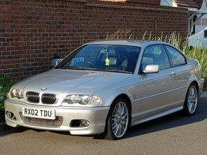 2002 BMW 325 CI M SPORT AUTO COUPE - GENUINE 78K - FSH - GENUINE