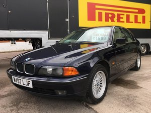 2000 BMW 5 Series future classic, 2 owners from new For Sale