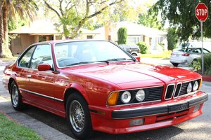 1989 BMW 635CSI E24 For Sale