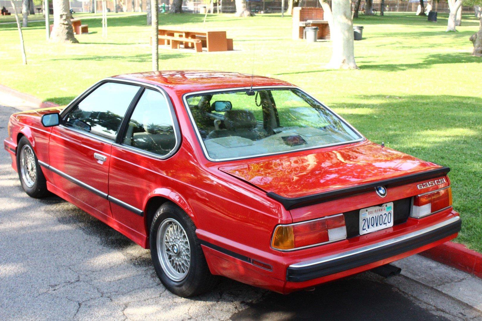 1989 BMW 635CSI E24 SOLD (picture 2 of 6)