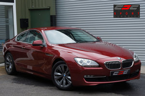2012 BMW 640d SE Auto Coupe, 52k, Red, Sat-Nav, FSH, Superb